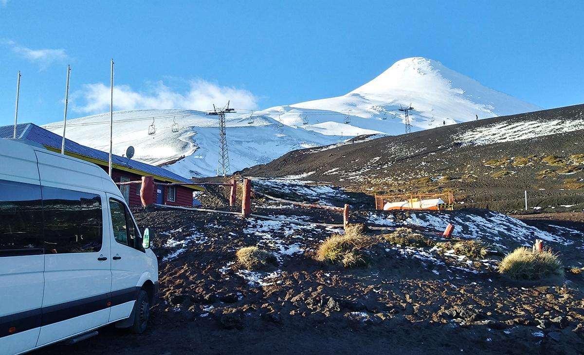 Estação de teleférico do vulcão Osorno