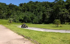 Pista de mini bugre do hotel fazenda