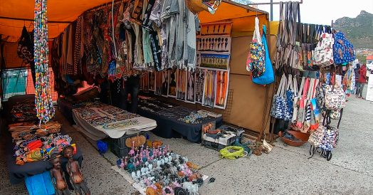 Feira de Artesanato em Hout Bay