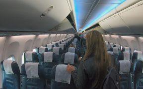 Entrando na aeronave da Kulula
