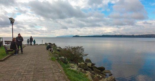 Lago Llanquihue em Puerto Varas