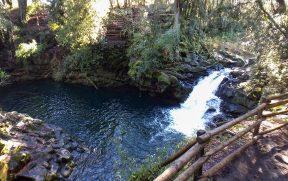Piscina natural Laguna Azul