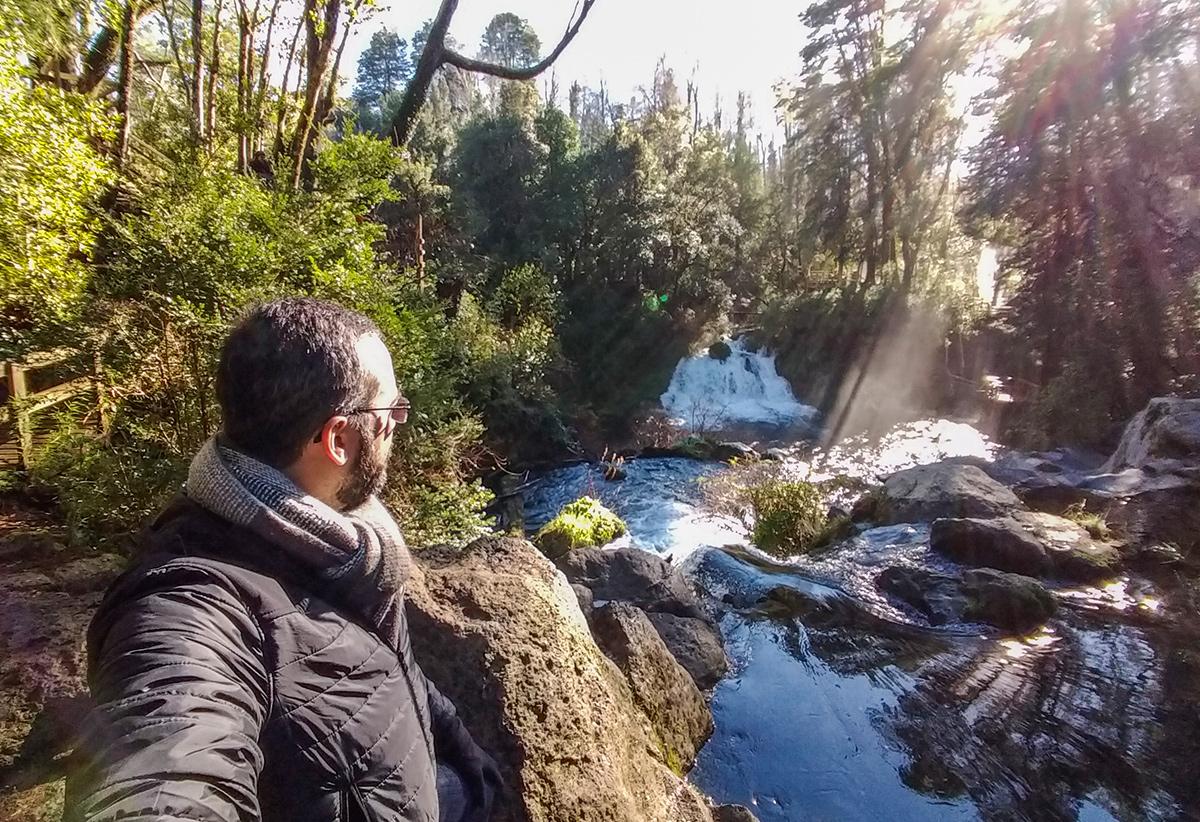 Cachoeira Los Ojos del Caburgua