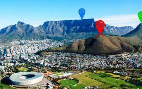 Montanhas de Cape Town