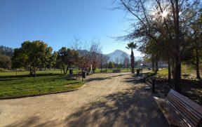 Manhã de Sol no Parque Bicentenário