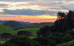 Pôr do Sol na Fazenda Ribeirão