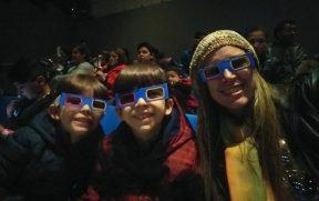 Santiago com crianças: Cimena 3D no MIM