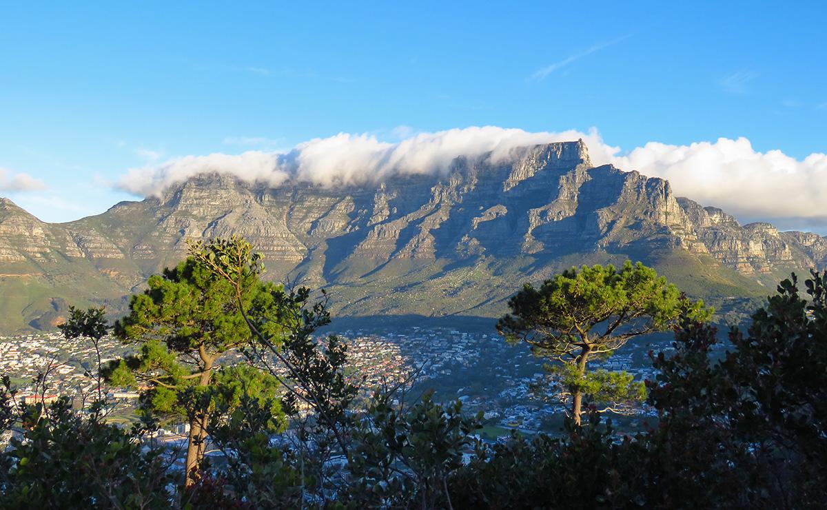 Table Mountain vista de Signal Hill