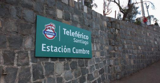 Teleférico de Santiago: Estação Cumbre