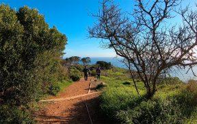 Inicio da trilha em Signal Hill