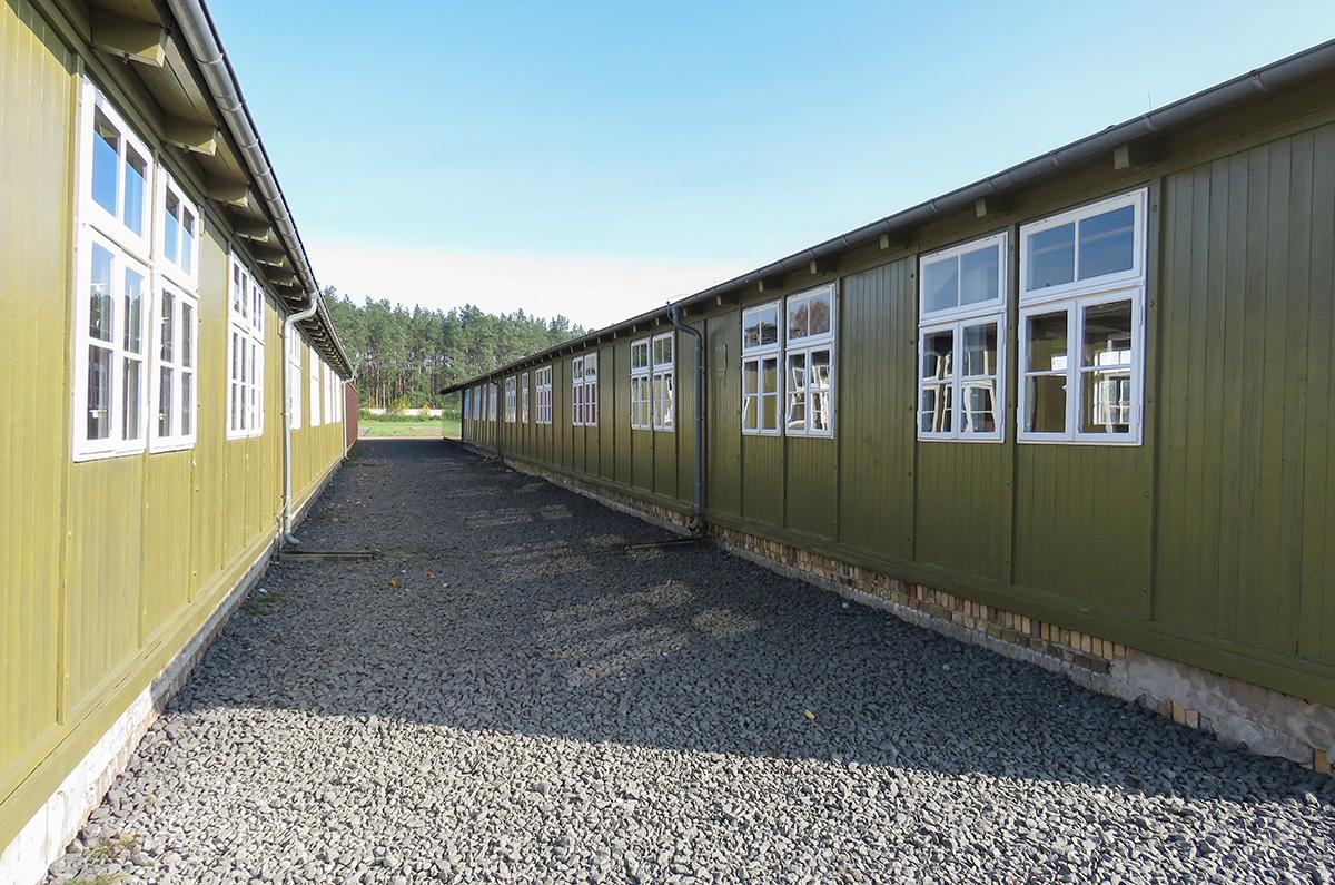 Os únicos 2 barracões ainda existentes viraram museus
