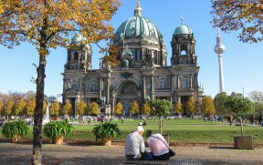 Lindo visual da Berliner Dom