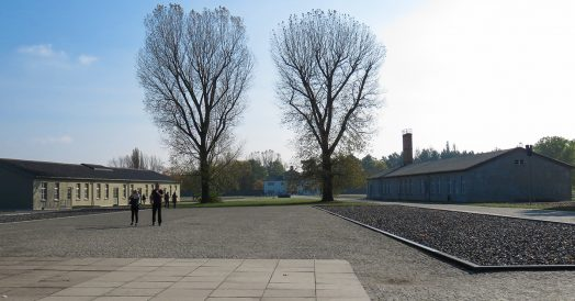 Campo de concentração de Sachsenhausen na Alemanha