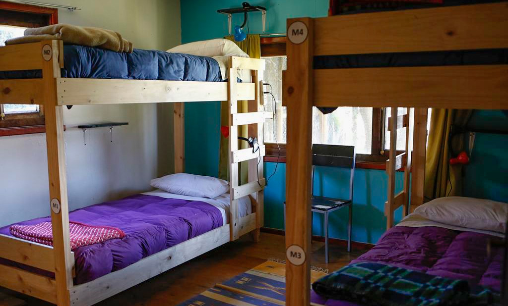 Dormitório compartilhado no Casa Vieja
