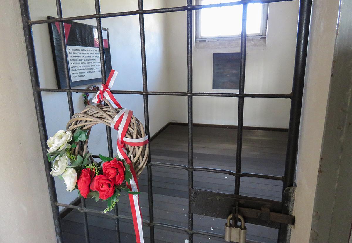 Cela utilizada para presos políticos em Sachsenhausen