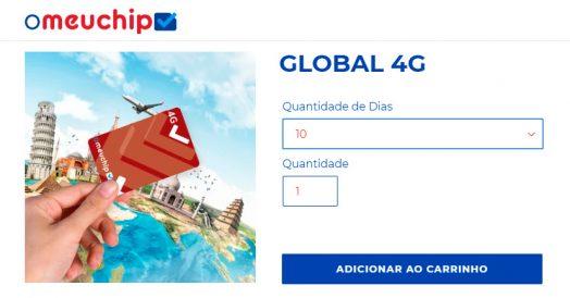 Chip África do Sul: OMeuChip Global 4G