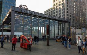 Estação na Potsdamer Platz