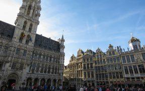 Prefeitura na Grand Place em Bruxelas