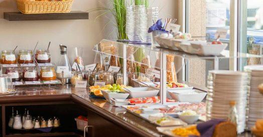 Café da manhã no Quarto do Hotel Berlin Mitte