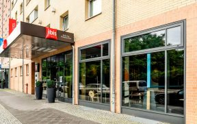 Entrada do ibis Berlin City Potsdamer Platz