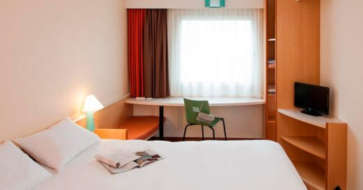 Quarto do ibis Berlin City Potsdamer Platz