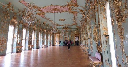 Salão dentro do Palácio de Charlottenburg