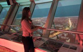 Curtindo a vista da Berliner Fernsehturm