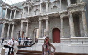 Porta do mercado romano de Mileto