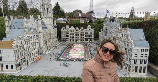 Miniatura da Grand Place no Mini Europe
