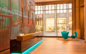 Recepção do Motel One Berlin-Potsdamer Platz