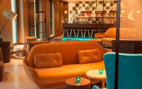 Interior do Motel One Berlin-Potsdamer Platz