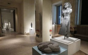 Exposição do Neues Museum