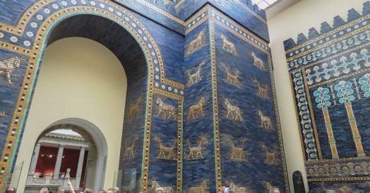 Porta de Ishtar no Museu Pergamon