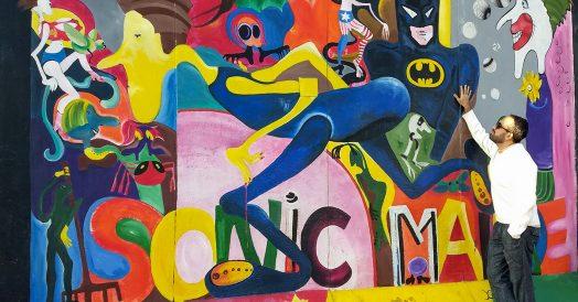 Artes criativas no Muro de Berlim