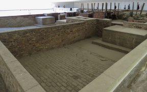 O que sobrou das câmaras de gás em Sachsenhausen