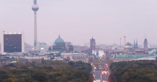Pontos turísticos de Berlim visto no detalhe