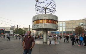 World Time Clock em Berlim